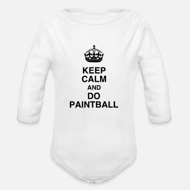 Paintball Paintball - Paintballer - Airsoft - Sport - Winner - Organic Longsleeve Baby Bodysuit