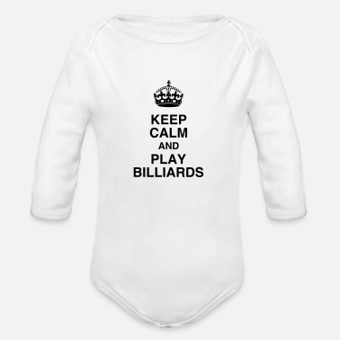 Snooker Billiards - Snooker - Billard - Sport - Winner  - Organic Longsleeve Baby Bodysuit