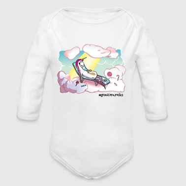 Unicorn Heaven - myunicorn.rocks - Økologisk langermet baby-body