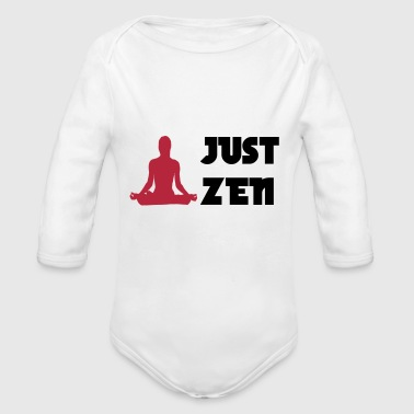 Just Zen - Baby Bio-Langarm-Body