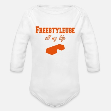 Fitness Freestyleuse all my life step - Body bébé bio manches longues