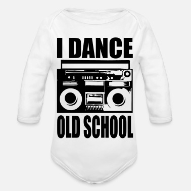 i dance old school - Baby Bio Langarmbody