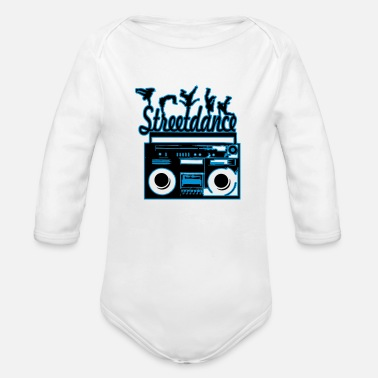 Streetdance streetdance - Organic Long-Sleeved Baby Bodysuit