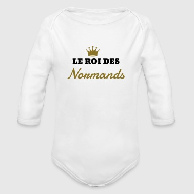 Normandie / Normand / Normande / France Tee shirts - Body bébé bio manches longues