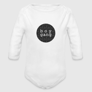 Shirt/Body: Boy Gang - Baby Bio-Langarm-Body