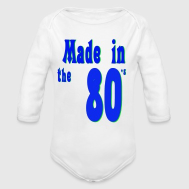 The 80s are not - Organic Longsleeve Baby Bodysuit