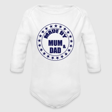 Made by Mum and Dad - Organic Longsleeve Baby Bodysuit