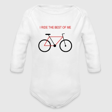 Bicycle_the_best_of_me_v2 - Body ecologico per neonato a manica lunga