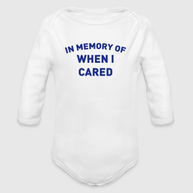 A REMINDER AS IT HAS ME ITCHING - Organic Longsleeve Baby Bodysuit