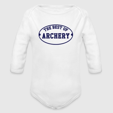 The Best of Archery  - Organic Longsleeve Baby Bodysuit