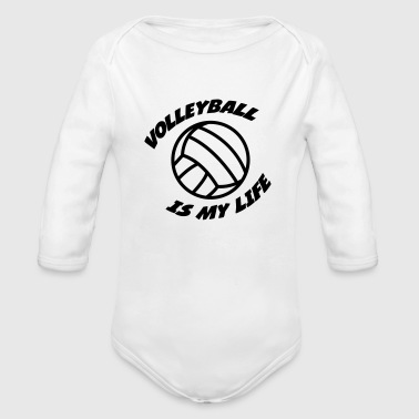 Volleyball - Body bébé bio manches longues