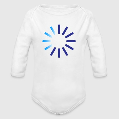 Progress indicator for a download - Organic Longsleeve Baby Bodysuit