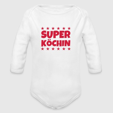 Koch / Kochen / Cooking / Chef - Baby Bio-Langarm-Body