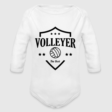 Volleyer - Baby Bio-Langarm-Body