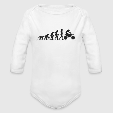 Evolution Motocross - Baby Bio-Langarm-Body