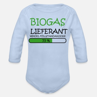 Lieferant Biogas Lieferant - Baby Bio Langarmbody