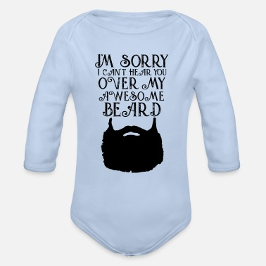 Beard Beard - Beard - Organic Long-Sleeved Baby Bodysuit
