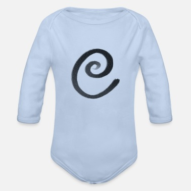 Hallucination Hallucination E - Organic Long-Sleeved Baby Bodysuit