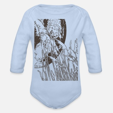 Field field - Organic Long-Sleeved Baby Bodysuit