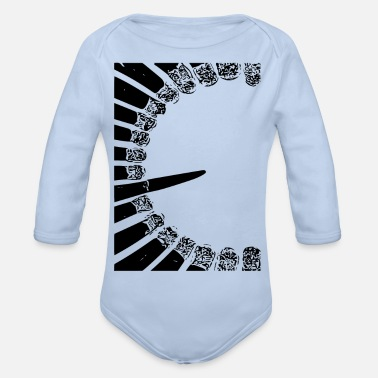 Match matches - Organic Long-Sleeved Baby Bodysuit