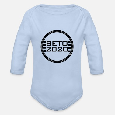 Candidate Beto 2020 - Presidential Candidate - Organic Long-Sleeved Baby Bodysuit