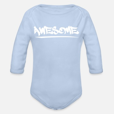 Awesome Awesome - Body bébé bio manches longues