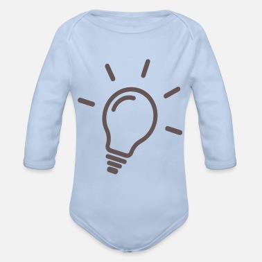 Lamp Lamp - Lamp - Organic Long-Sleeved Baby Bodysuit