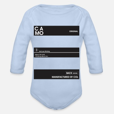 Picture picture - Organic Long-Sleeved Baby Bodysuit
