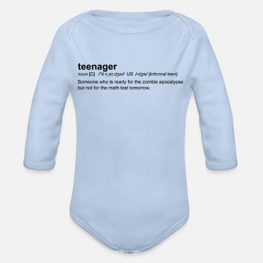 Teenager Definition of Teenager - Body Bébé bio manches longues