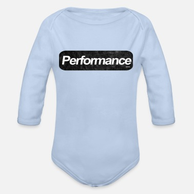 Performance PERFORMANCE VINTAGE - Organic Long-Sleeved Baby Bodysuit