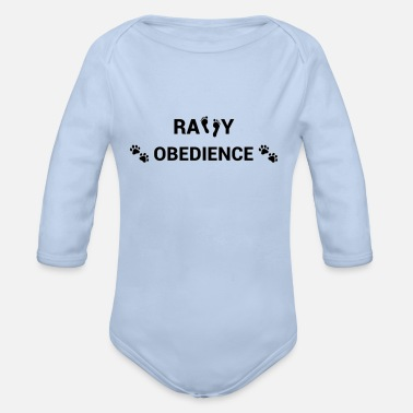 Rally Obedience Rally Obedience - Organic Long-Sleeved Baby Bodysuit