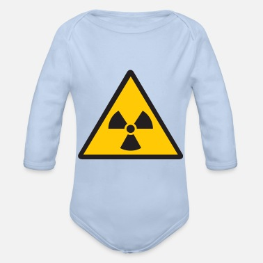 Nuclear nuclear - Organic Long-Sleeved Baby Bodysuit