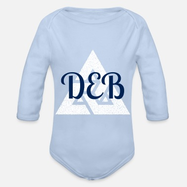 Deb DeB mode - Organic Long-Sleeved Baby Bodysuit