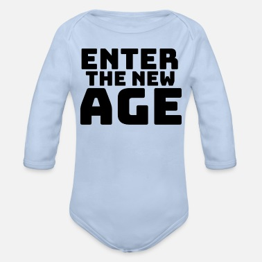 New Age Enter the new Age - Baby Bio Langarmbody