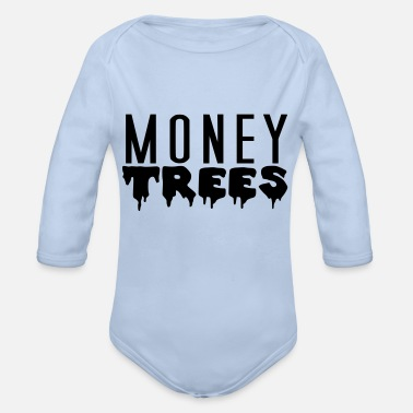 MONEY TREES - Baby Bio Langarmbody