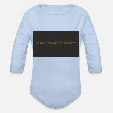 courage - Organic Long-Sleeved Baby Bodysuit