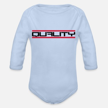 Quality Quality - Organic Long-Sleeved Baby Bodysuit