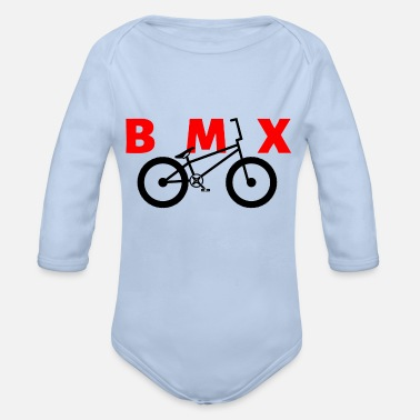 Bmx BMX - Organic Long-Sleeved Baby Bodysuit