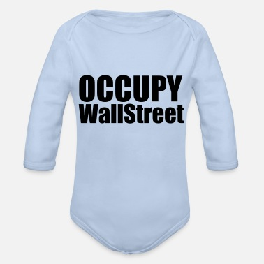 Occupy Occupy - Organic Long-Sleeved Baby Bodysuit