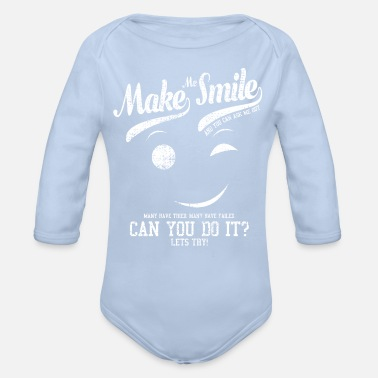 Laugh Laugh - Organic Long-Sleeved Baby Bodysuit