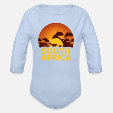 Obscene South Africa - Organic Long-Sleeved Baby Bodysuit