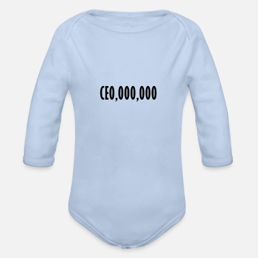 Ceo CEO CEO - Organic Long-Sleeved Baby Bodysuit