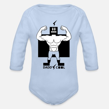 Daddy daddy - Body bébé bio manches longues
