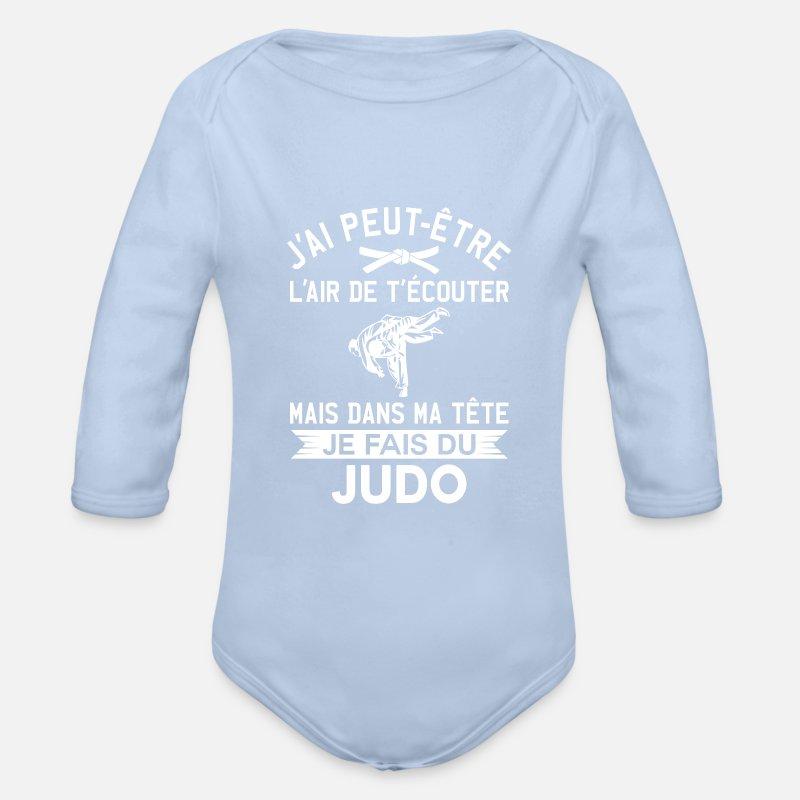 Body Bebe Judo Baby Art Martiaux Judoka tostadora