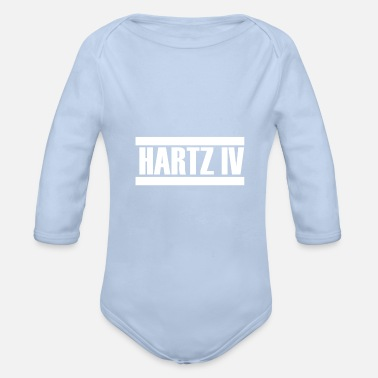 Employment Office Hartz IV termination employment office - Organic Long-Sleeved Baby Bodysuit