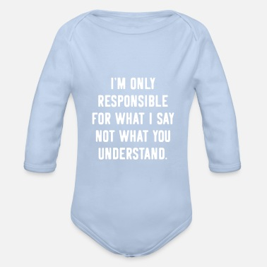 Provocation Provocation provocative Provoke - Organic Long-Sleeved Baby Bodysuit