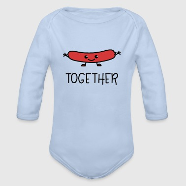 Better Together Partnerlook (Part2) Hot Dog - Baby Bio-Langarm-Body
