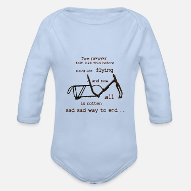 Rusty Rusty bike - Organic Long-Sleeved Baby Bodysuit