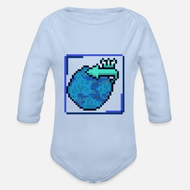 Government Change of government - Organic Long-Sleeved Baby Bodysuit