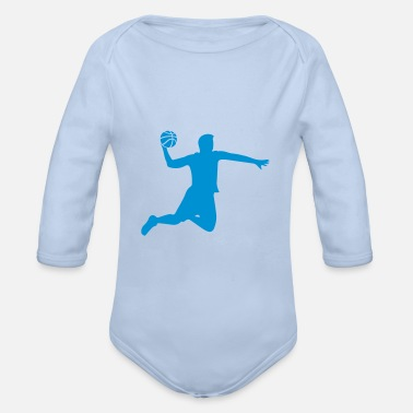 Sport Edition - Basketball - Organic Long-Sleeved Baby Bodysuit